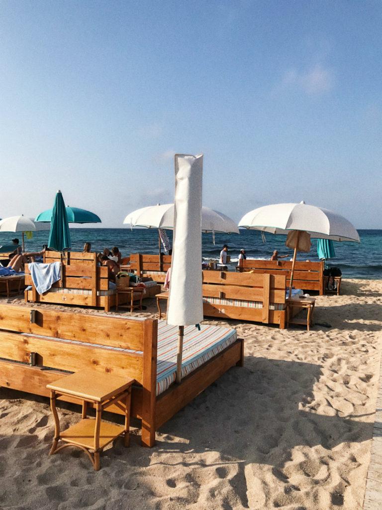 Отдых в Апулии: пляж Le Palme в Капитоло