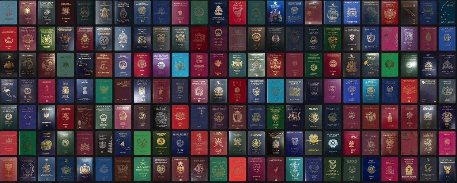 Список безвизовых стран. Паспорта мира
